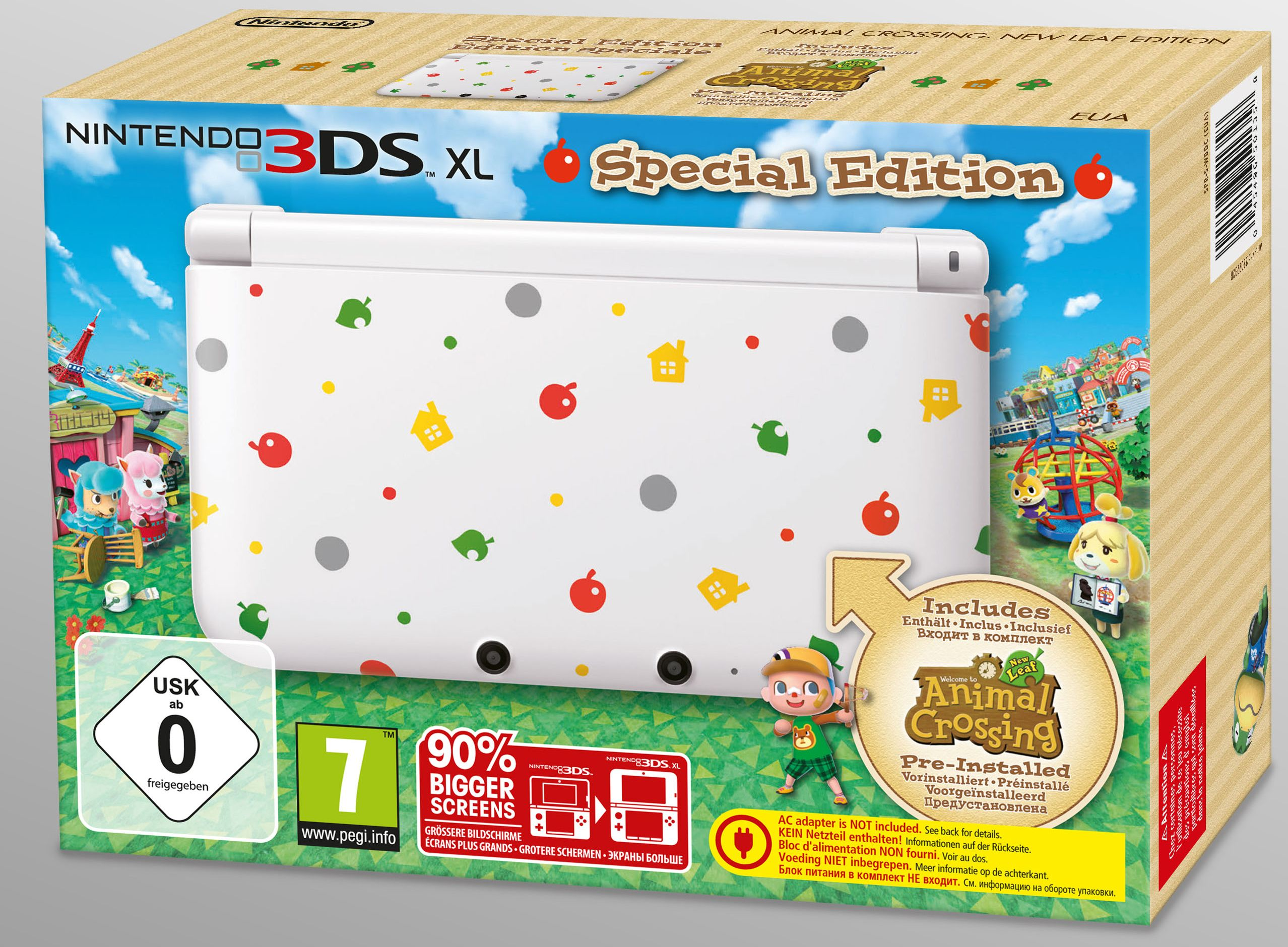 Animal Crossing New Leaf 3ds Special Edition Und Weitere Infos