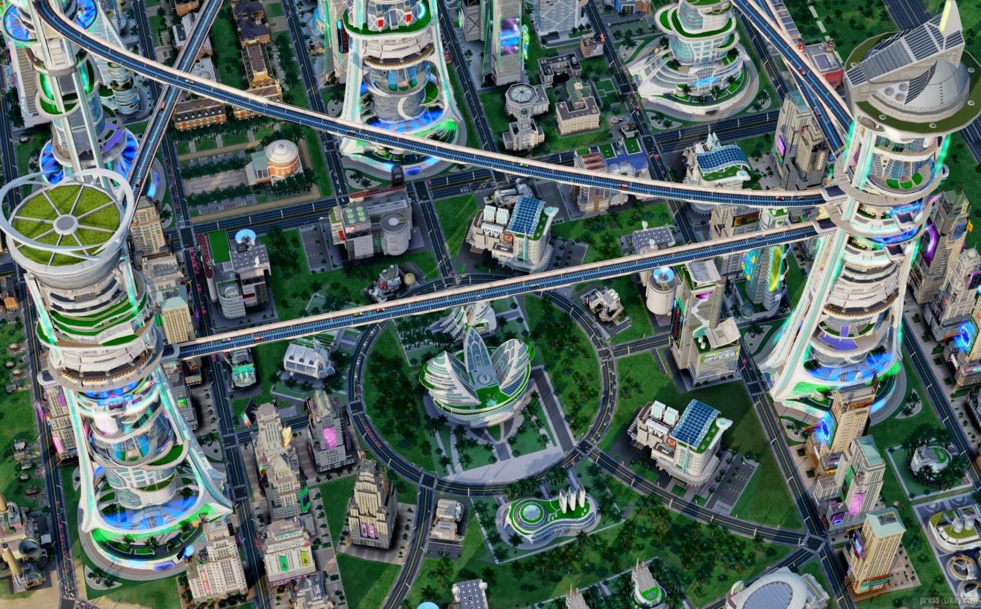 Simcity Städte Der Zukunft Screenshot Galerie Pressakeycom