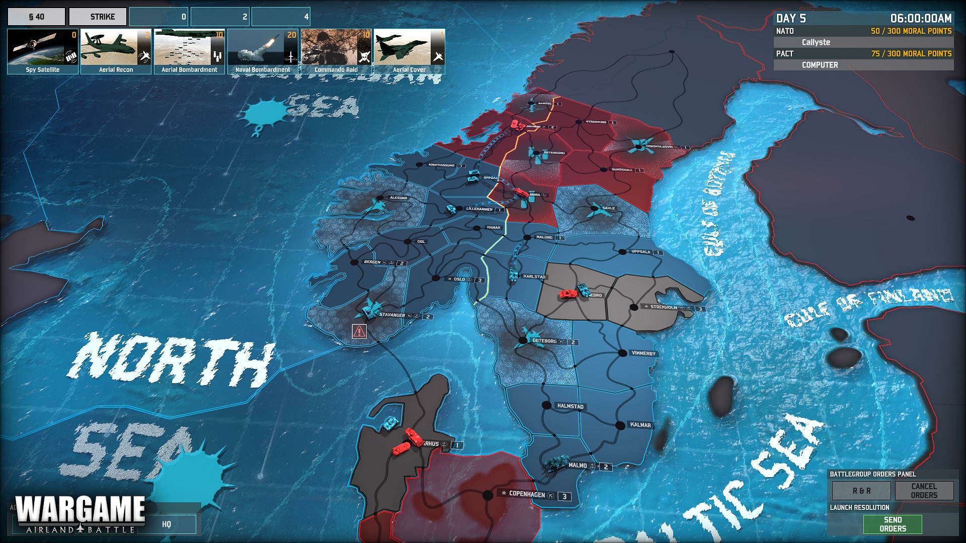 Wargame: Two-Front-War 2014 pc game Img-2