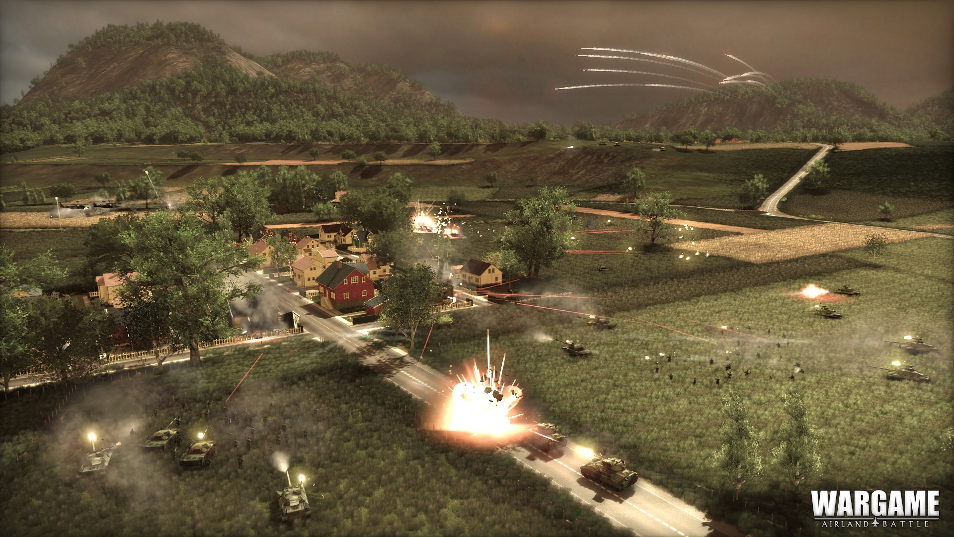 Wargame: Two-Front-War 2014 pc game Img-1