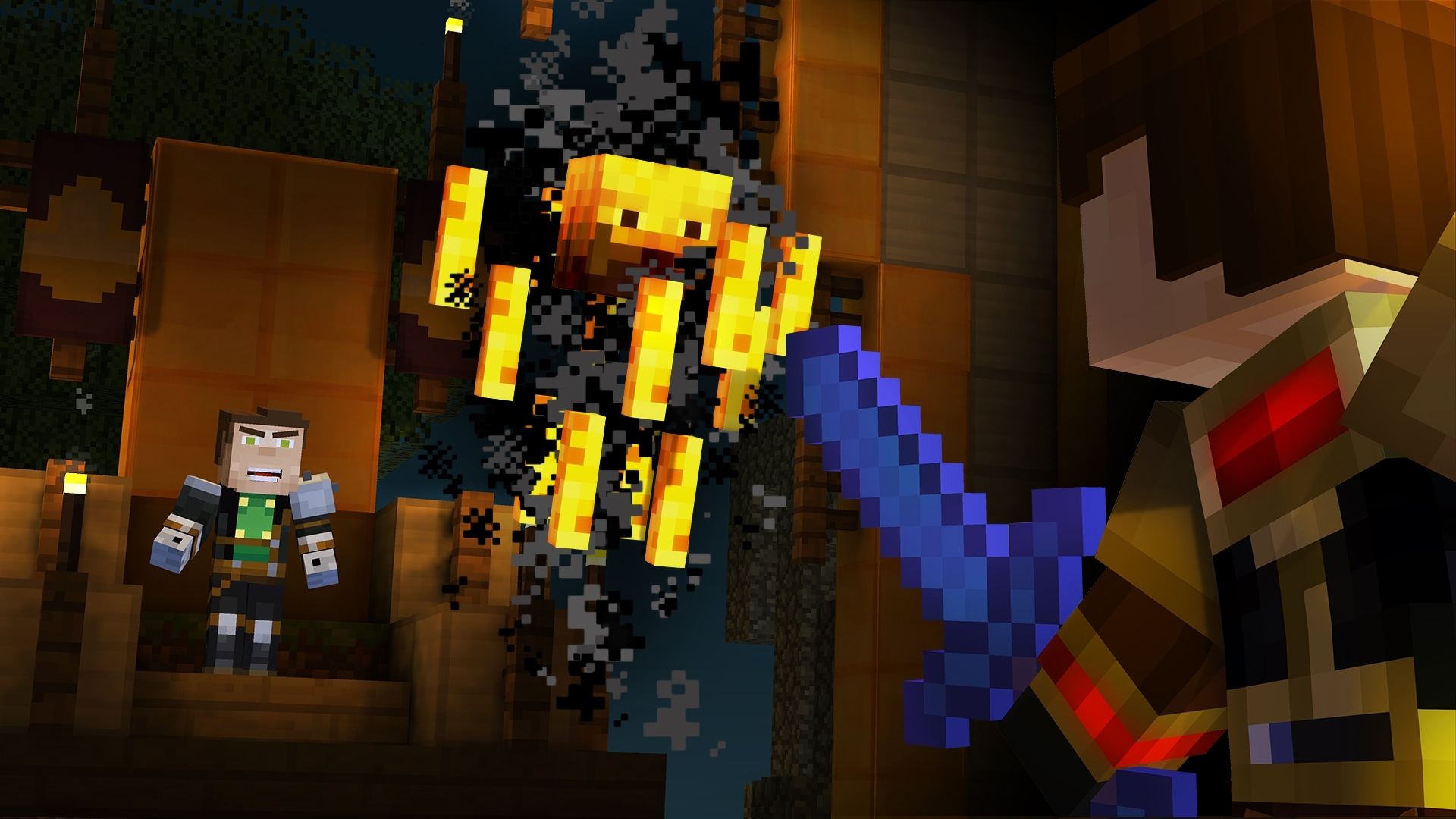 Minecraft story mode 6 episode