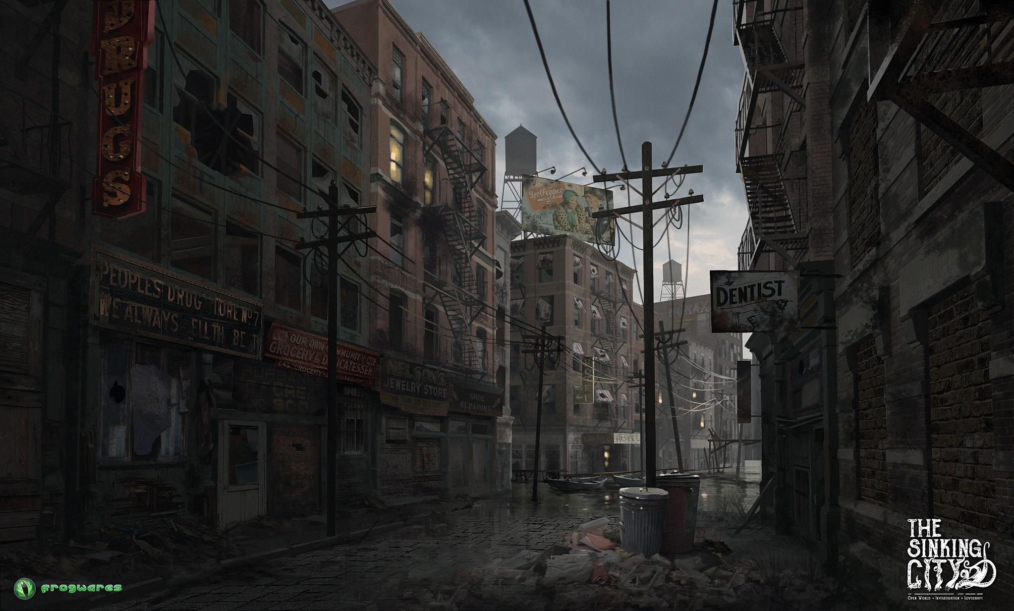 The Sinking City - Screenshot-Galerie | pressakey.com