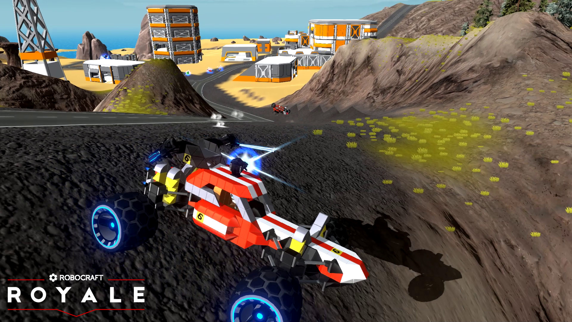 Robocraft Royale - Steam Early Access Trailer | pressakey.com