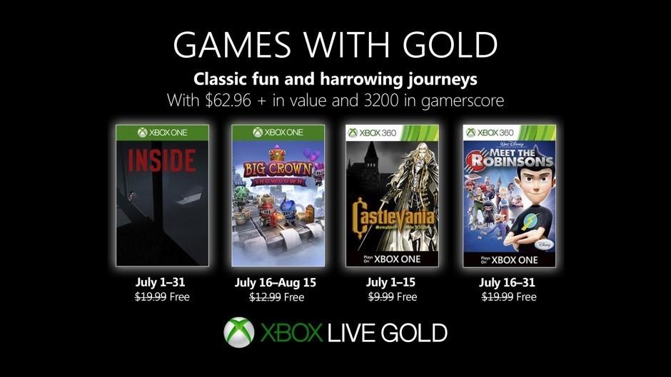 """Xbox Live - """"Games with Gold"""" Spiele für den Juli 2019"""