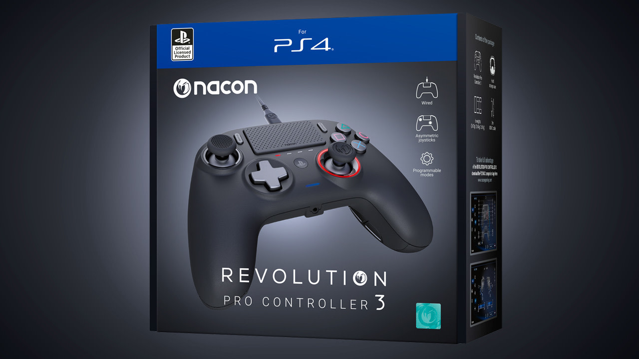 Nacon Revolution Pro Controller 3 - Neues Modell des PS4-Controllers angekündigt